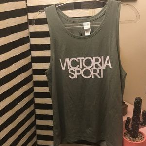 BNWOT Victoria's Secret Sport Tie Back Tank